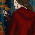 Im Herbstwald by Rowan  Lewgalon