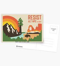 Support ALT NPS Postcards