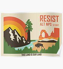 Unterstützung ALT NPS Poster