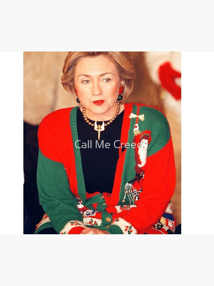 Jersey de Navidad de Hillary Clinton de amandagolf59