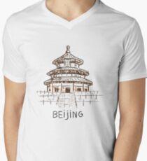 Beijing China V-Neck T-Shirt