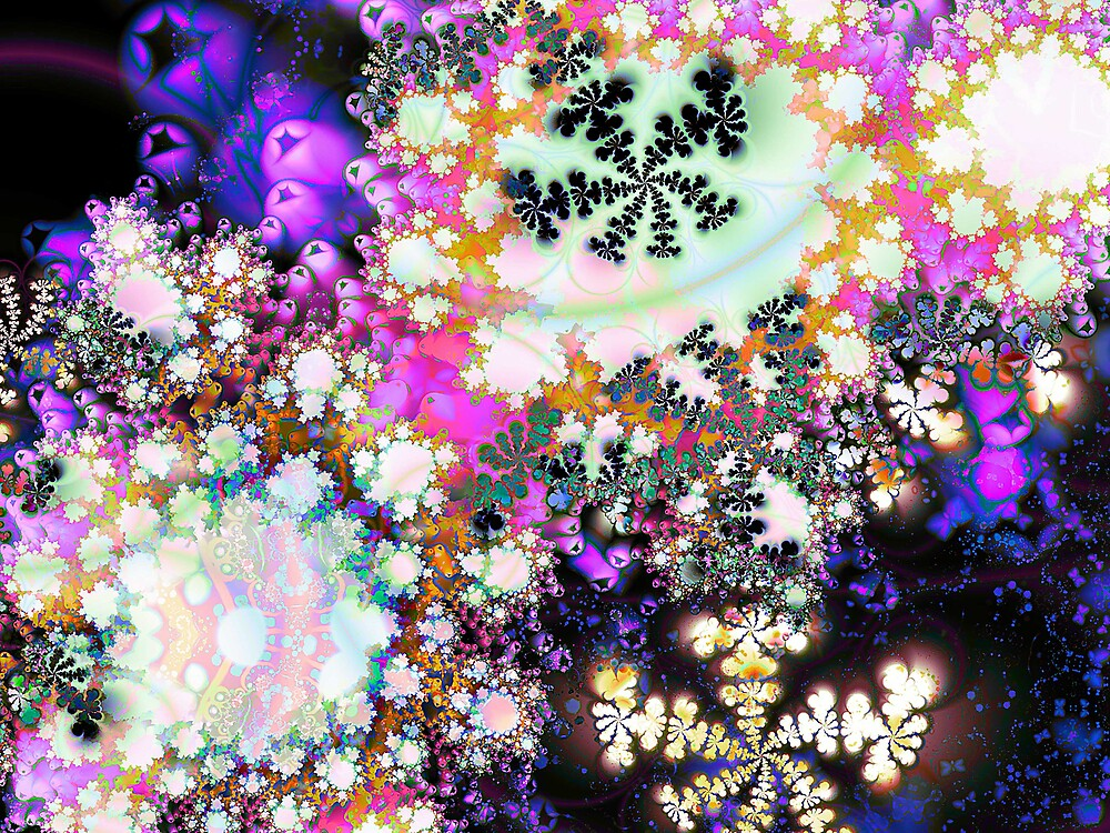 Celestial Snowflakes by blacknight