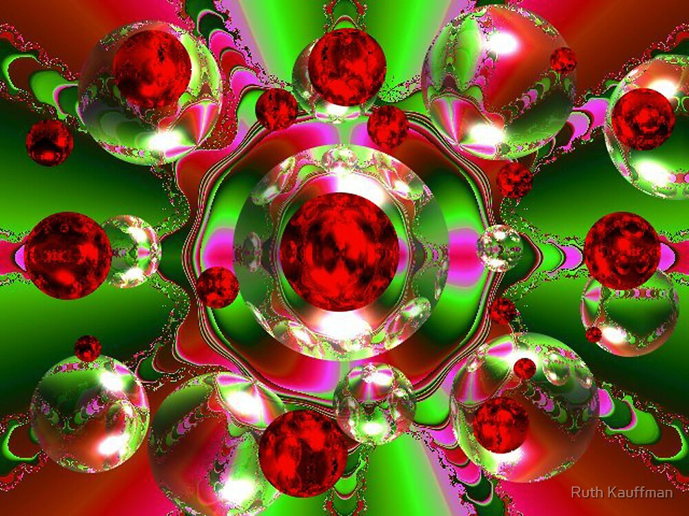 CHRISTMAS BUBBLES by Ruth Kauffman