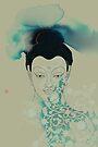 Blue Gautama Buddha by Thoth Adan