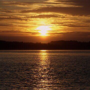 Golden Sunset by KGMiller