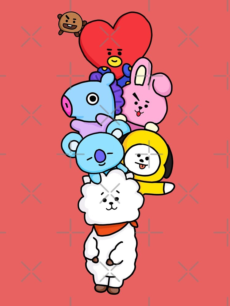 Quot Bt21 Rj Mang Koya Chimmy Cooky Shooky Tata Quot By