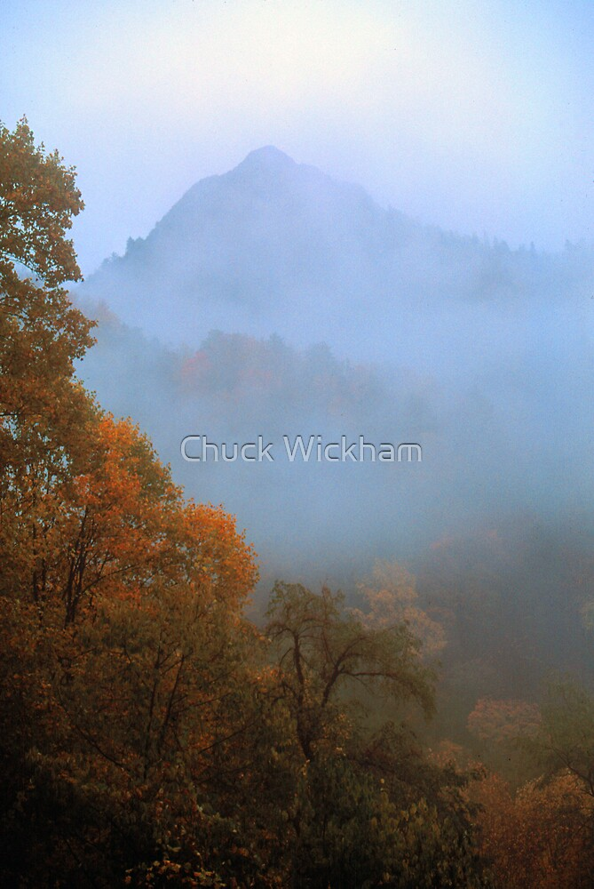 THE CHIMNEY TOPS by Chuck Wickham