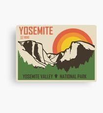 Yosemite National Park Canvas Print