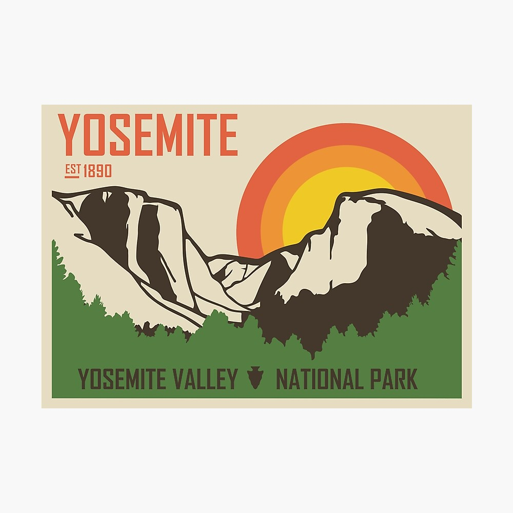 Yosemite National Park Fotodruck
