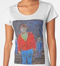 Watercolour zombies Women's Premium T-Shirt