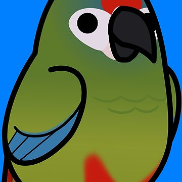 ¡Demasiadas aves! - Macaw Illigers / Guacamayo azul de MaddeMichael
