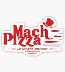 Mach Pizza (Earthbound) Sticker