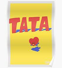 Póster BT21 Tata