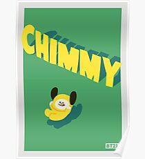 Póster BT21 Chimmy
