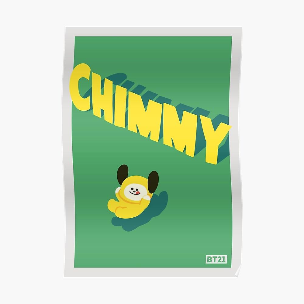 BT21 Chimmy Poster