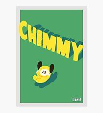 BT21 Chimmy Photographic Print
