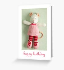 mary margaret birthday Greeting Card