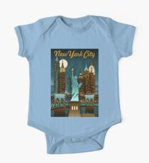 Vintage Poster New York City Kids Clothes