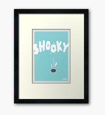 BT21 Shooky Framed Print