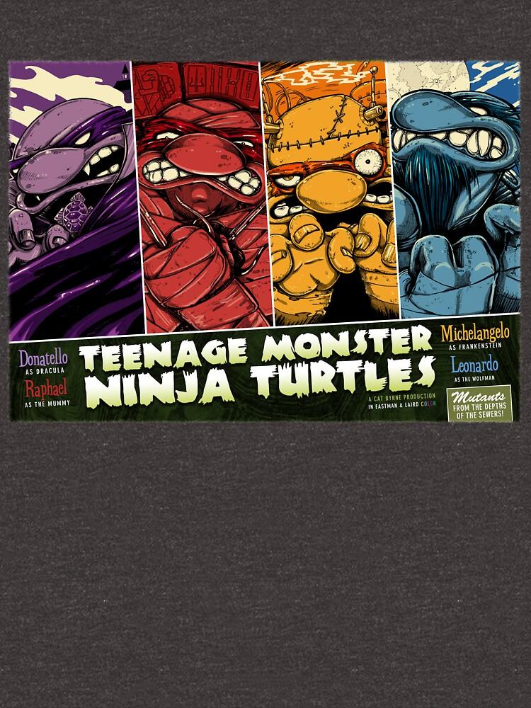 Teenage Monster Ninja Turtles by mizzlecat