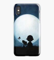 snoopy carlie night iPhone Case/Skin