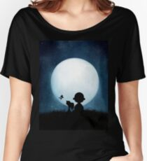 snoopy carlie night Women's Relaxed Fit T-Shirt