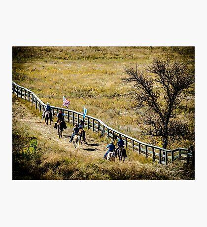 The Cowboy Way Photographic Print