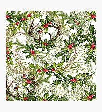 Holly Collage Photographic Print
