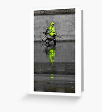 Day-glo Greeting Card