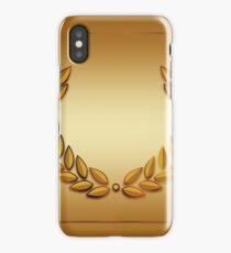 Roman Golden Laurel Victory Wreath iPhone Case/Skin