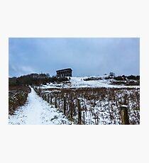 Winter at Herrington and Penshaw Photographic Print