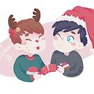 rudolf dan christmas phil by backin2009