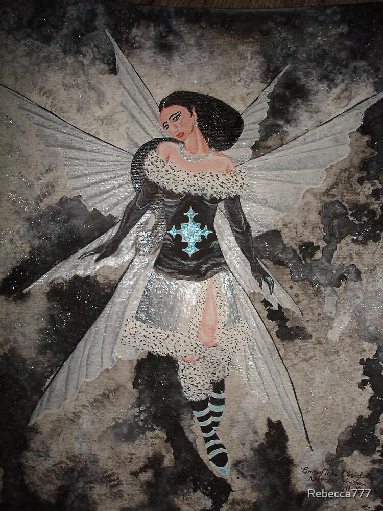 Snowflake Obsidian by Rebecca777
