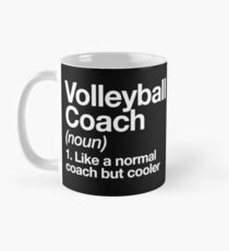 Volleyball Coach Funny Definition Trainer Gift Design Classic Mug