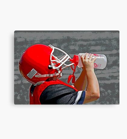 Quenching The Thirst Canvas Print