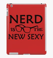 Nerd Is The New Sexy iPad Case/Skin