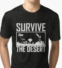 PUBG Survive The Desert Tri-blend T-Shirt