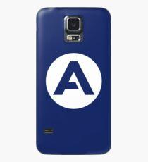 Blue Airbus Logo Icon Case/Skin for Samsung Galaxy