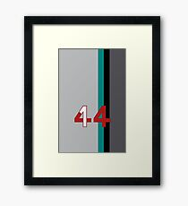 Hamilton 44 - Championship edition Framed Print