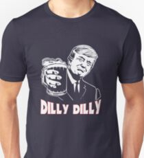 Donald Trump Bud Light Official Dilly Dilly T-Shirt Patrick's Day Gift Tess Unisex T-Shirt