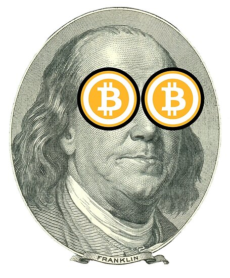 Benjamin Franklin Endorsed Bitcoin Posters By Mikeldoit Redbubble