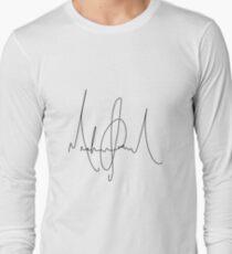 Michael Jackson Signature Long Sleeve T-Shirt