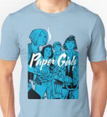 Paper Girls® - Mac, KJ, Tiffany & Erin (Volume 1) Unisex T-Shirt