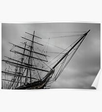 London Cutty Sark Greenwich Poster