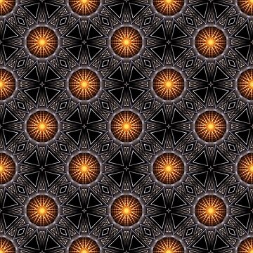 Golden Orb Tower Pattern 00120150507220114 by xzendor7