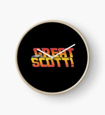 Back to the future - Great Scott! Clock