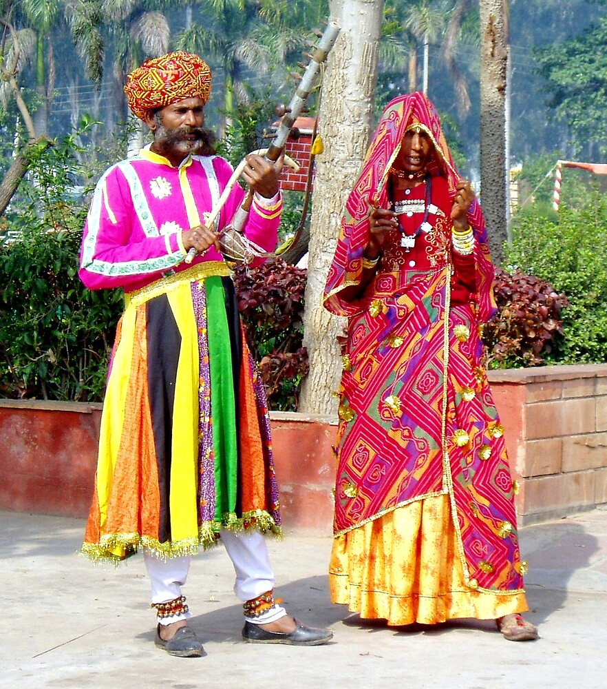 Indian Musicians by Braedene