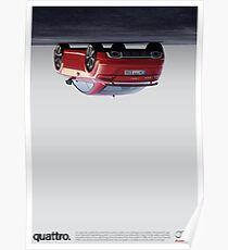 QUATTRO, by AUDI Poster