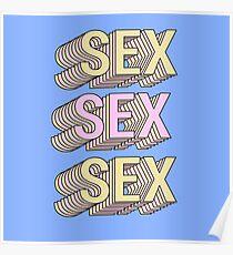 retro sex Poster