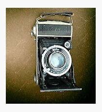 The Vintage of Camera  Photographic Print